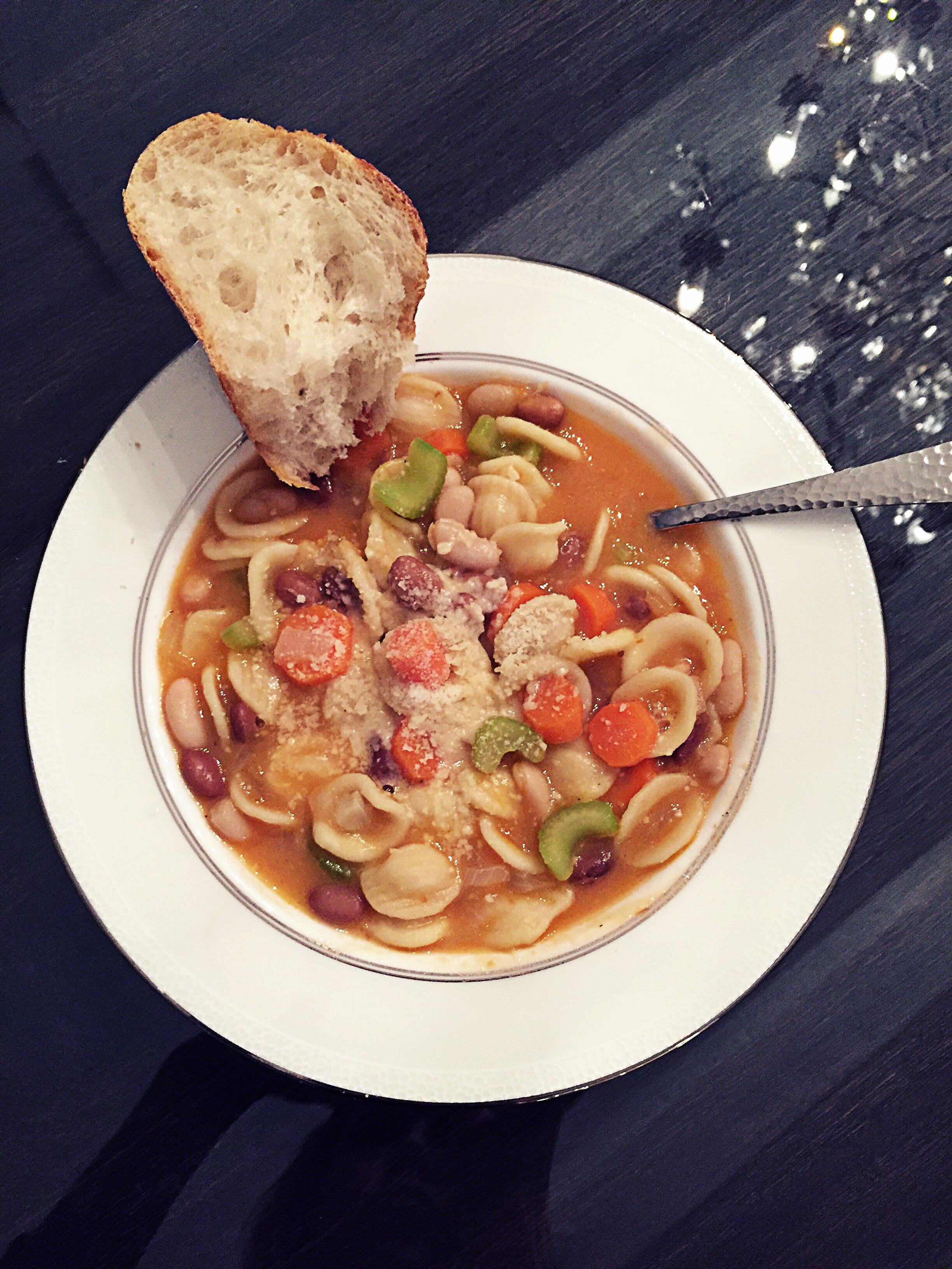 No Zuppa For You!! Pasta e Fagioli Recipe
