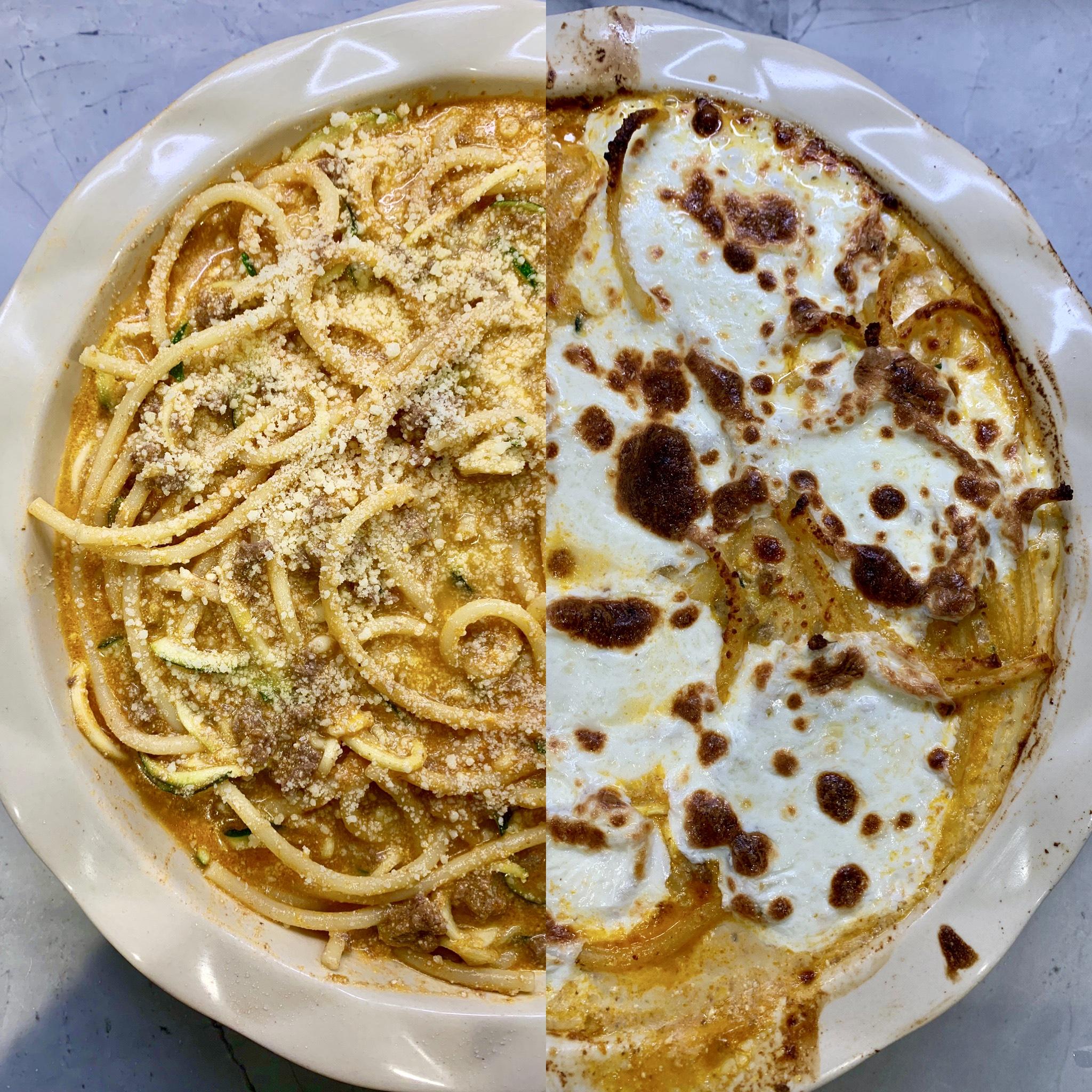 Spaghetti and Zucchini Pie, Oh My!