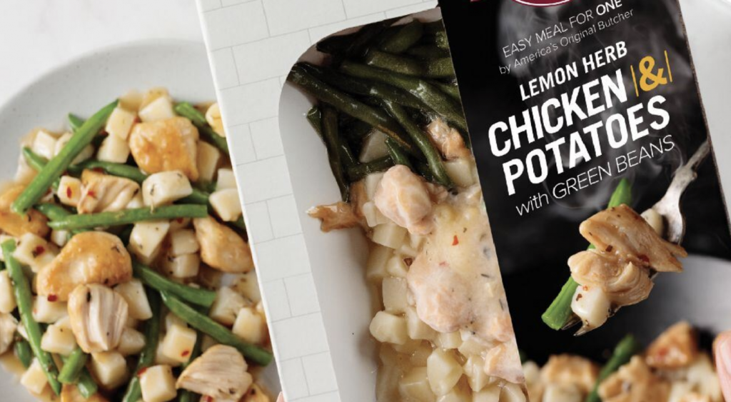Omaha Steaks Chicken & Potatoes Single Serve Meal
