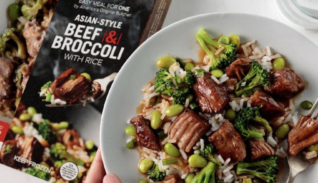 Omaha Steaks Beef and Broccoli Single Serve Meal