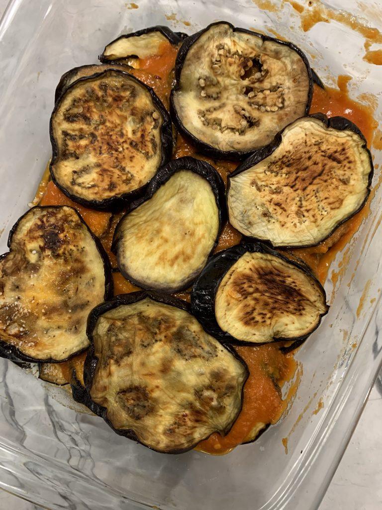 Building Eggplant Parm