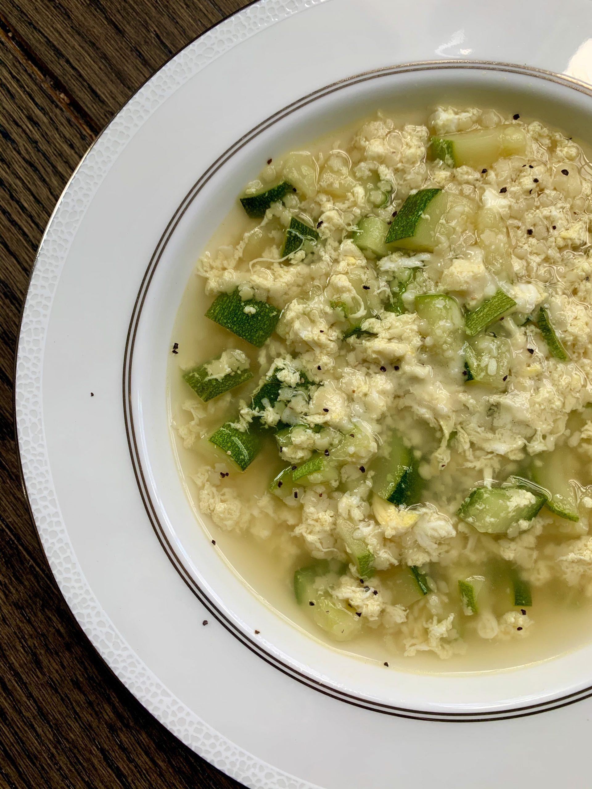 5-Minute Stracciatella Soup